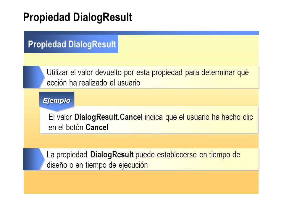 Propiedad DialogResult
