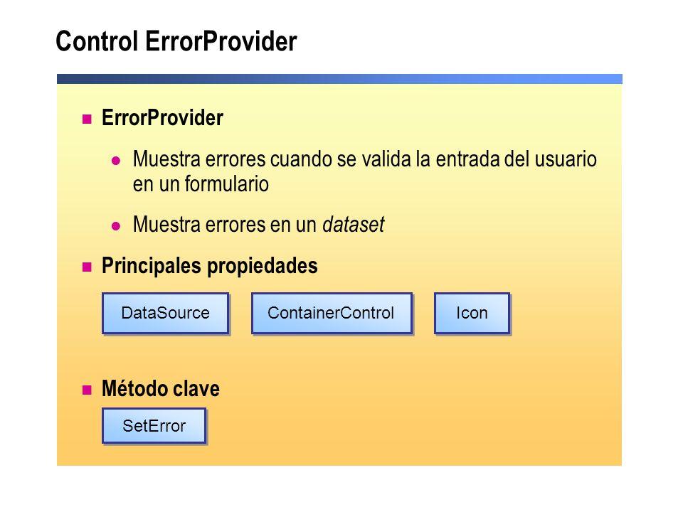 Control ErrorProvider