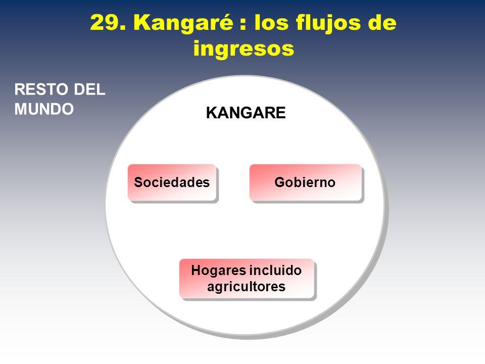 29. Kangaré : los flujos de ingresos