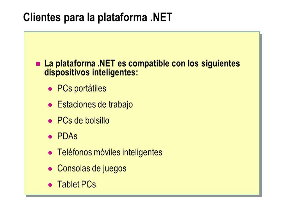 Clientes para la plataforma .NET
