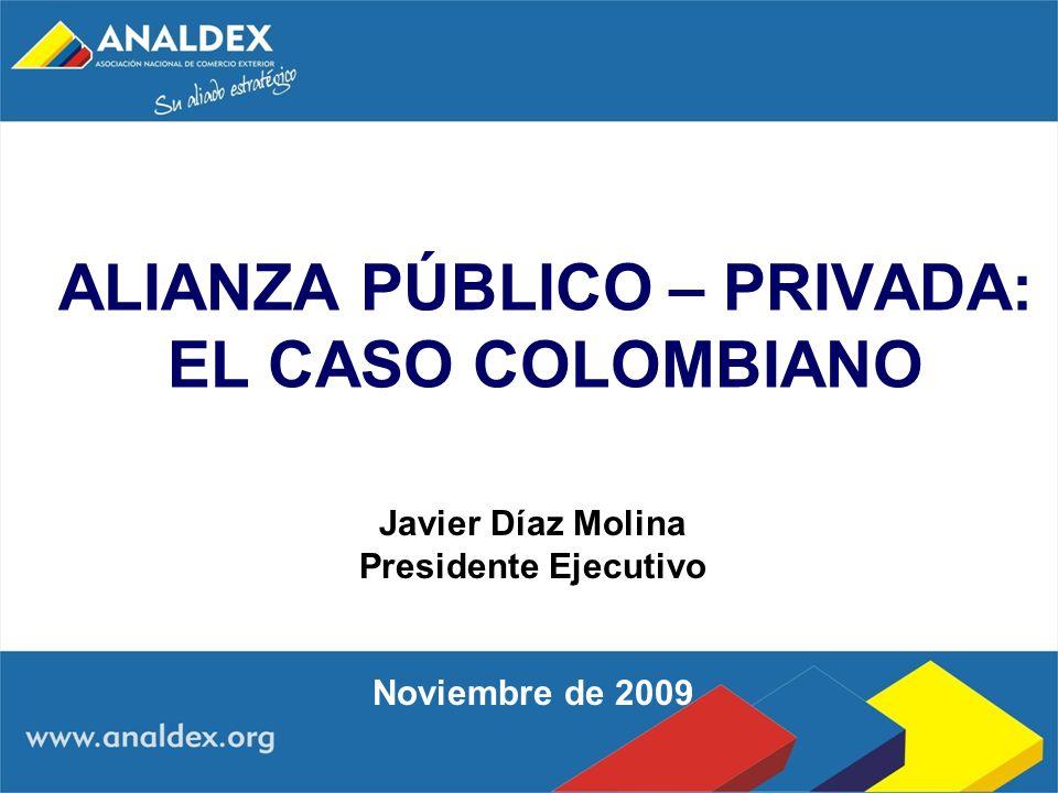 ALIANZA PÚBLICO – PRIVADA: EL CASO COLOMBIANO