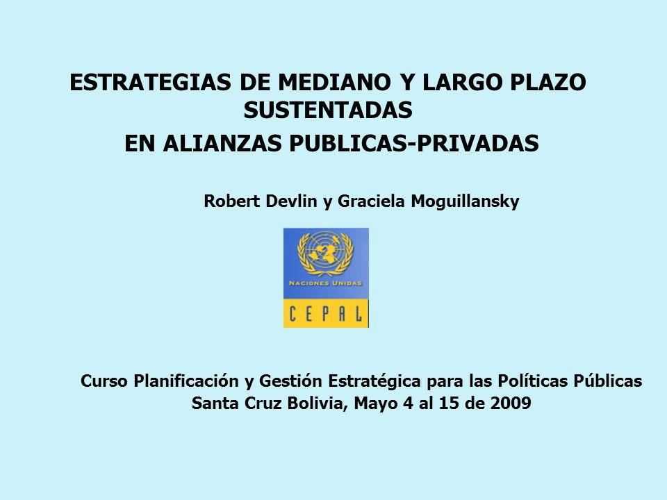 ESTRATEGIAS DE MEDIANO Y LARGO PLAZO SUSTENTADAS