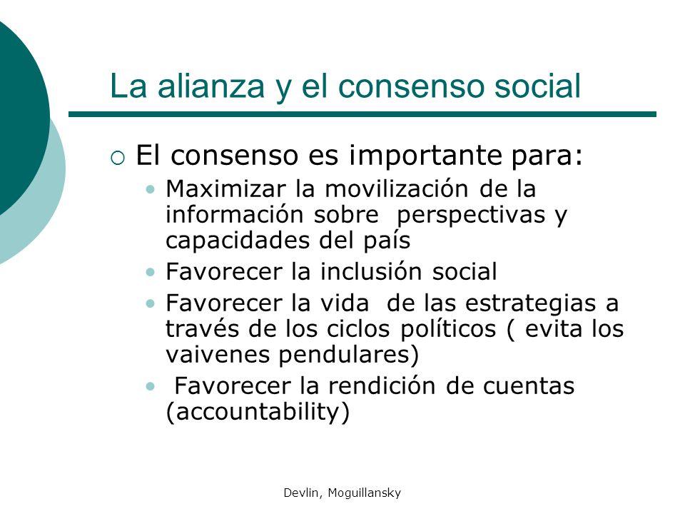 La alianza y el consenso social