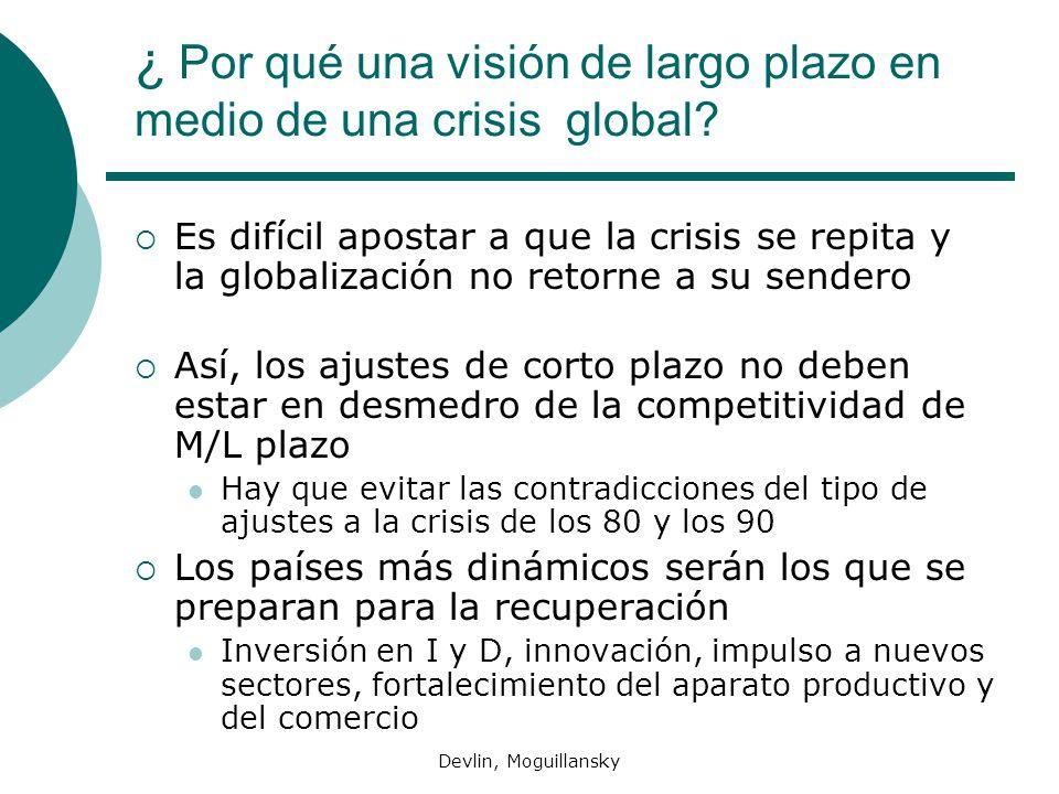 ¿ Por qué una visión de largo plazo en medio de una crisis global