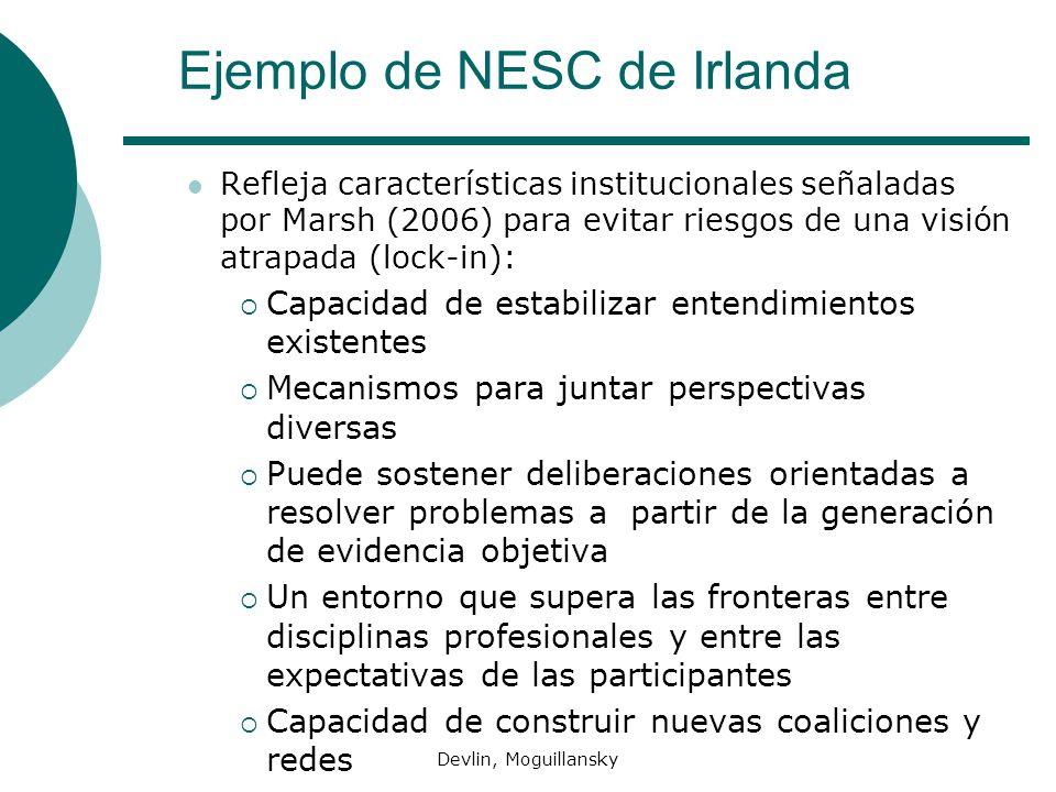 Ejemplo de NESC de Irlanda