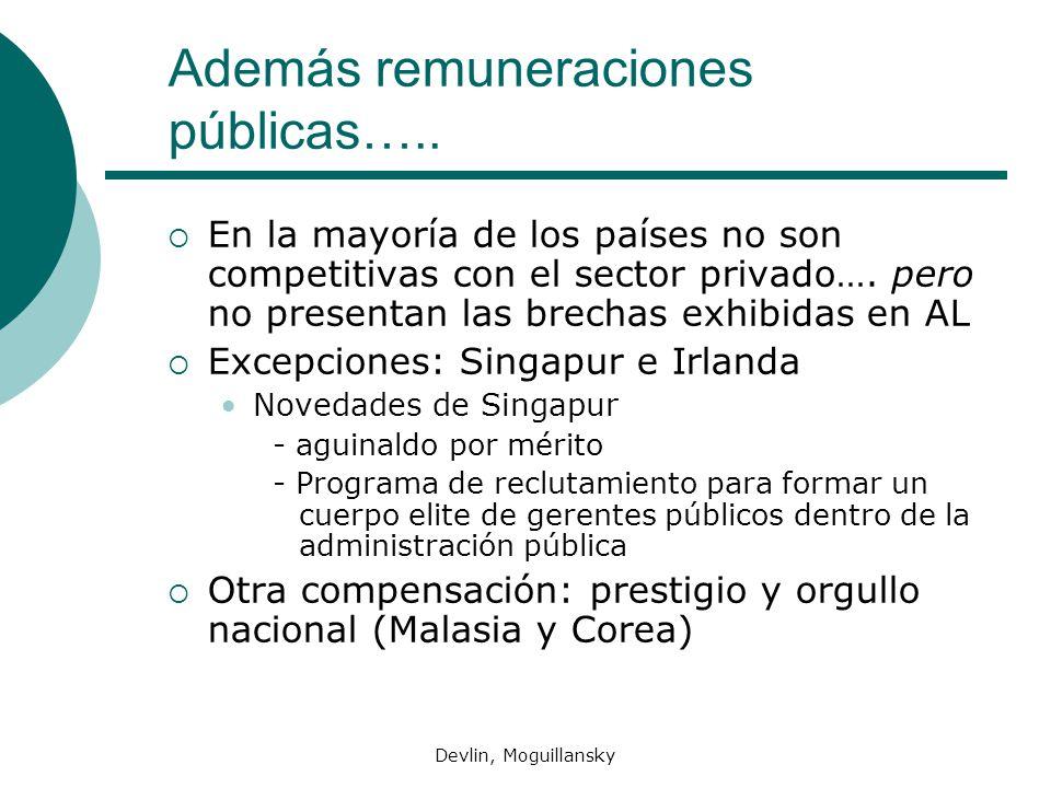 Además remuneraciones públicas…..