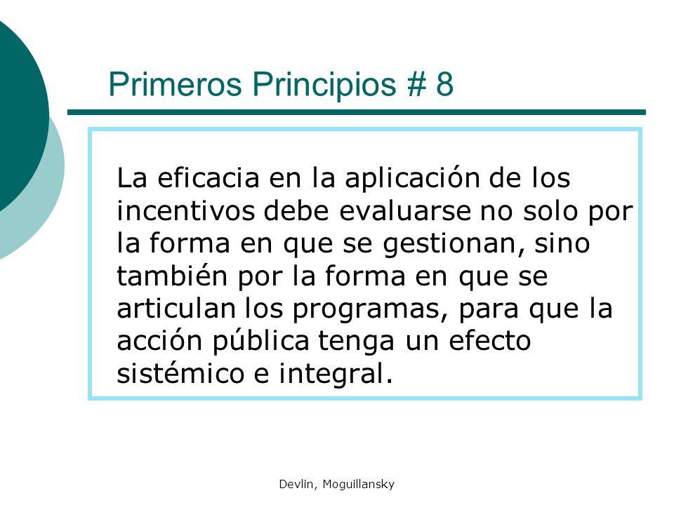 Primeros Principios # 8