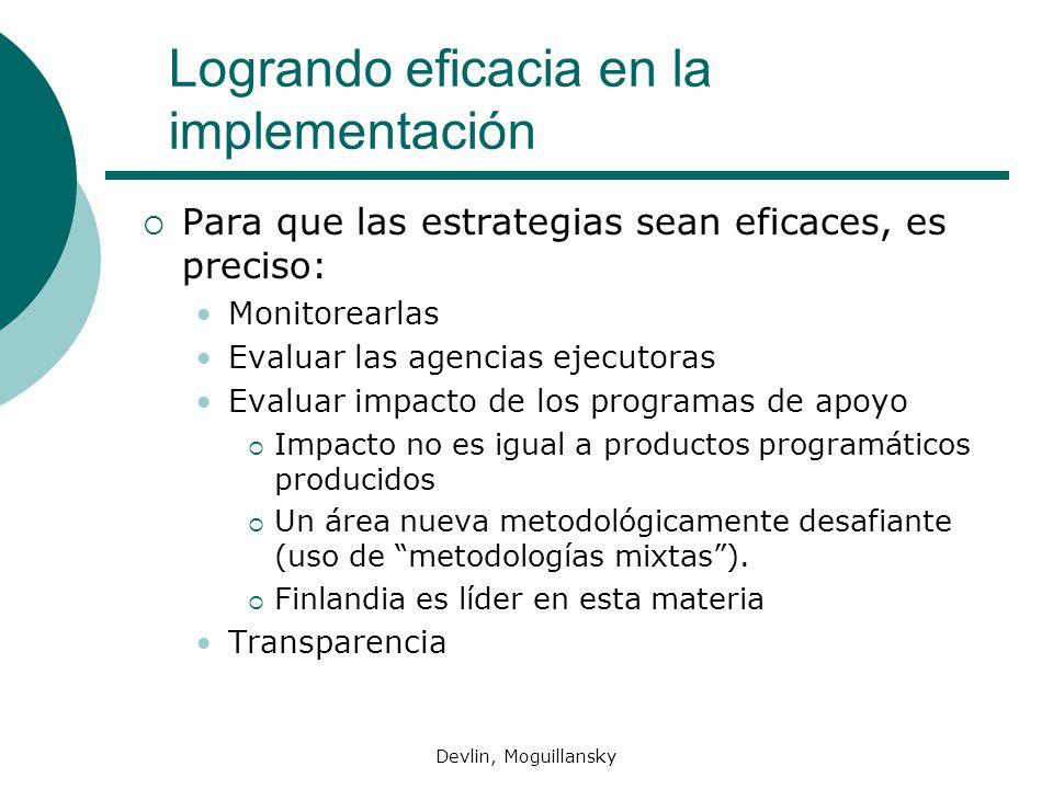 Logrando eficacia en la implementación
