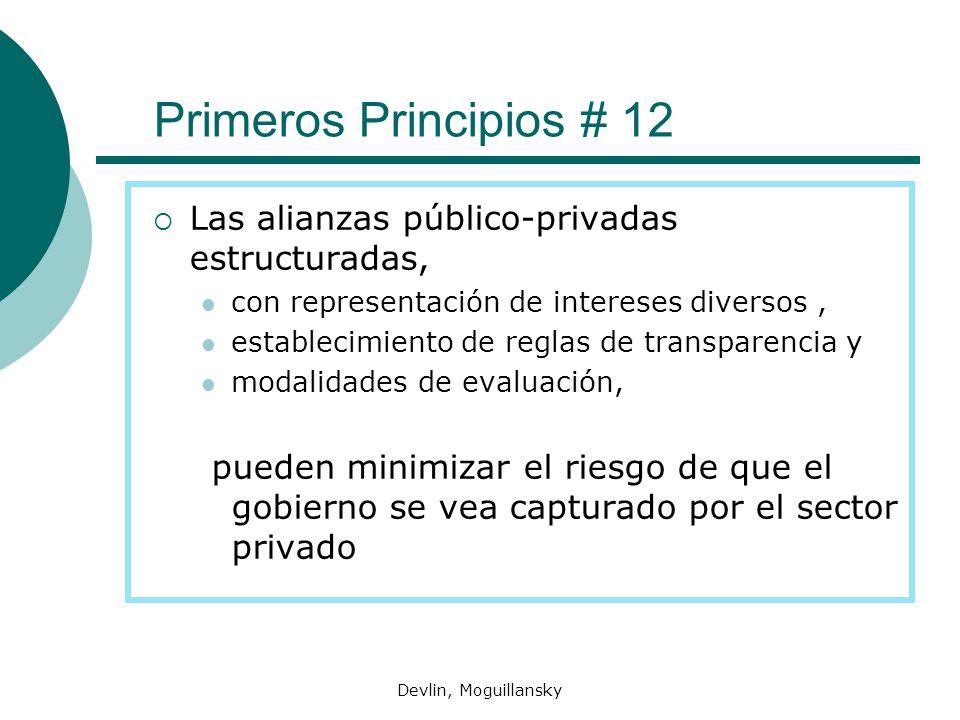 Primeros Principios # 12 Las alianzas público-privadas estructuradas,