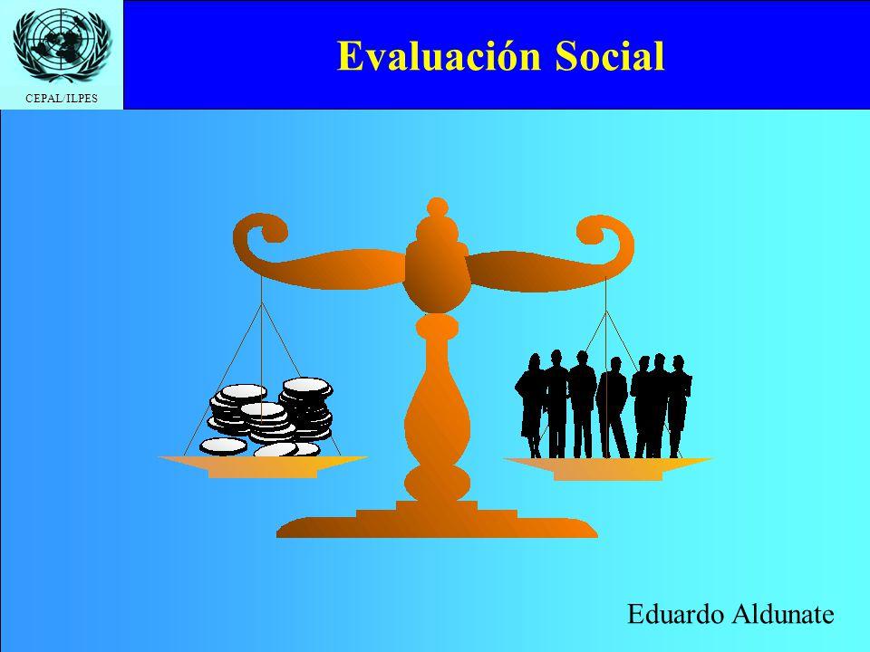 Evaluación Social Eduardo Aldunate