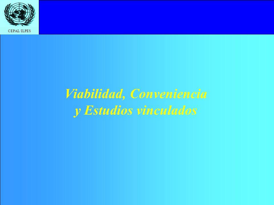 Viabilidad, Conveniencia y Estudios vinculados