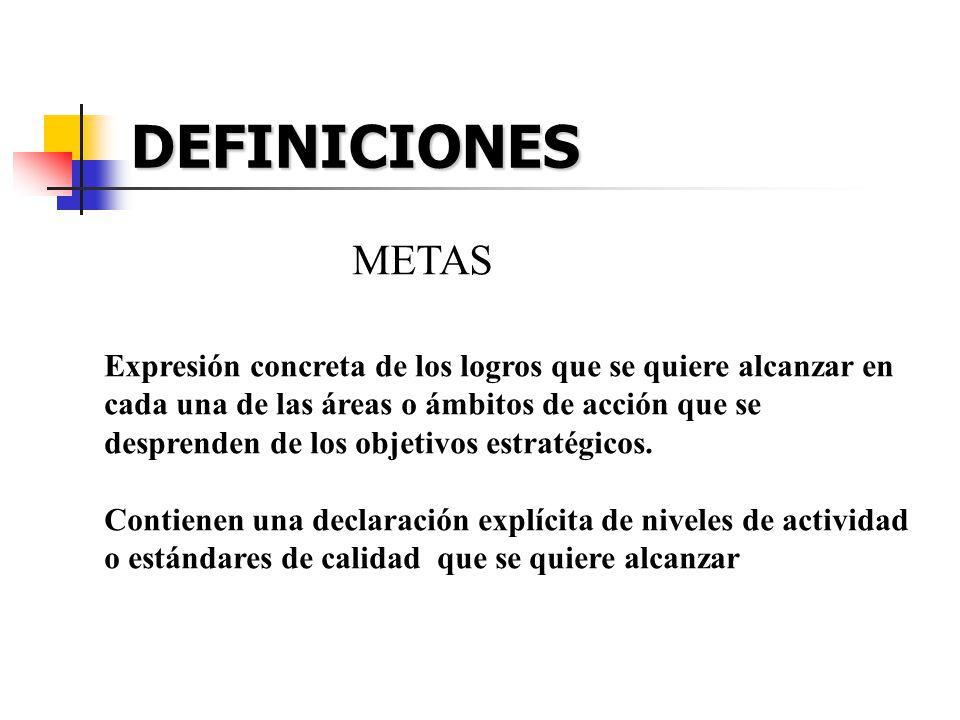 DEFINICIONES METAS.