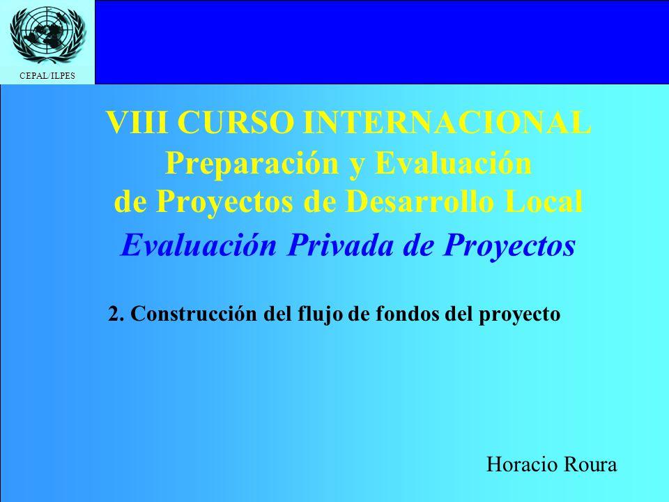 2. Construcción del flujo de fondos del proyecto