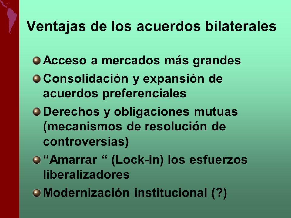 Ventajas de los acuerdos bilaterales