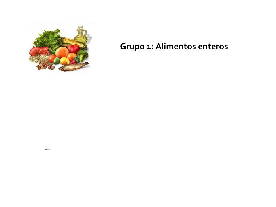Grupo 1: Alimentos enteros