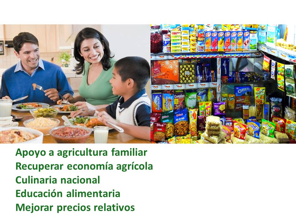 Apoyo a agricultura familiar