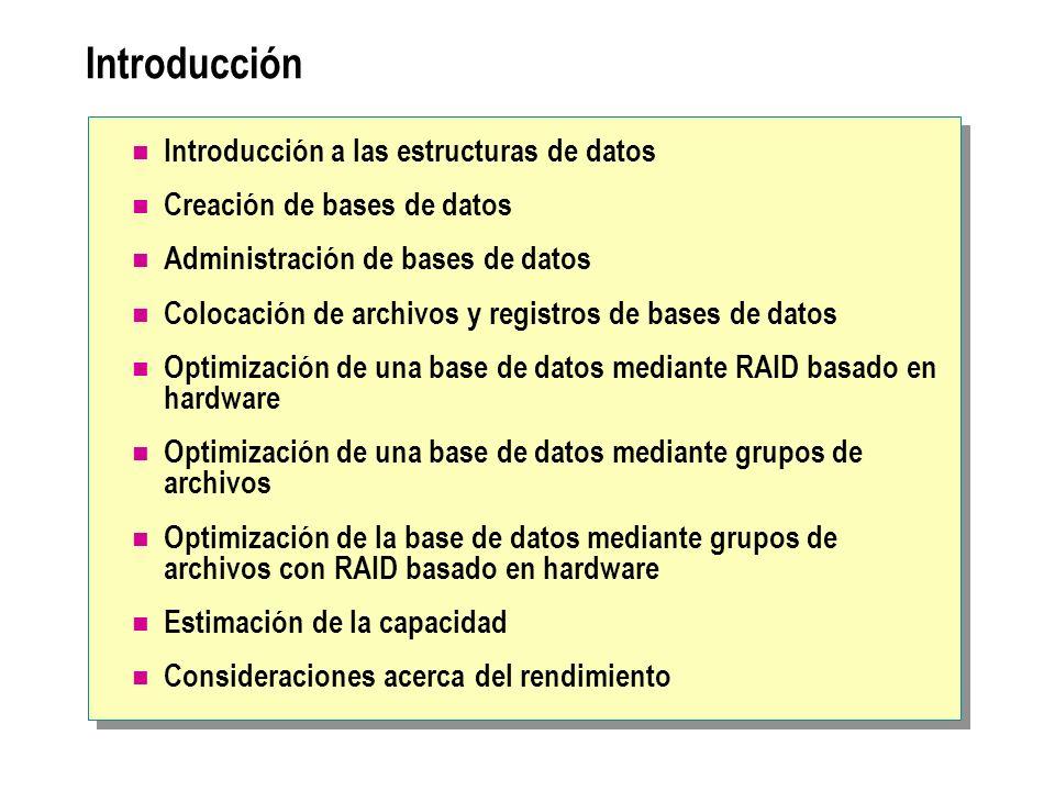 Introducción Introducción a las estructuras de datos