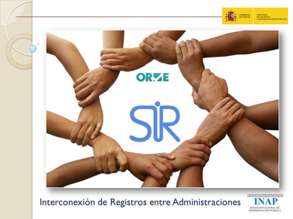 Interconexión de Registros entre Administraciones