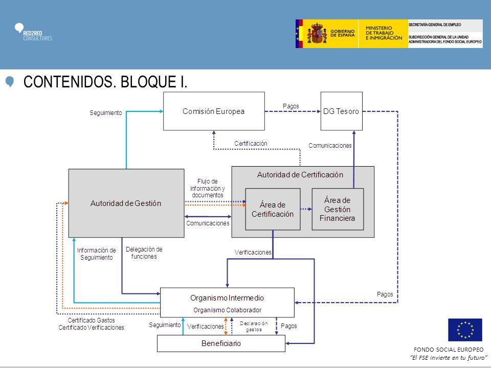 CONTENIDOS. BLOQUE I.