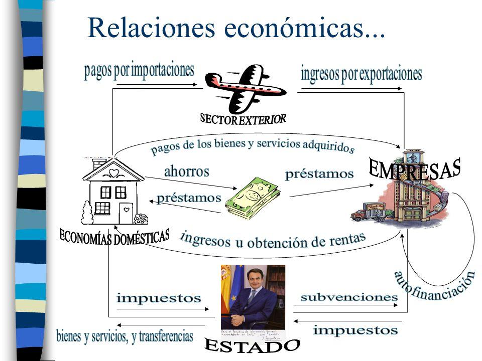 Relaciones económicas...