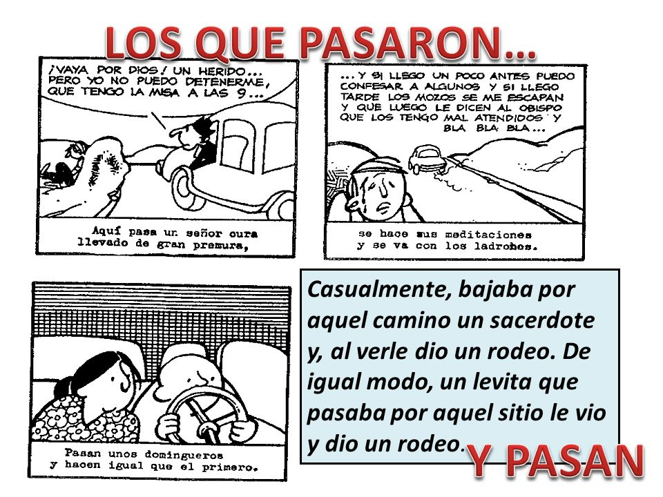 LOS QUE PASARON… Y PASAN