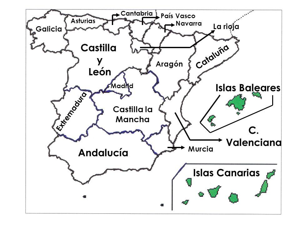 Castilla y León C. Valenciana