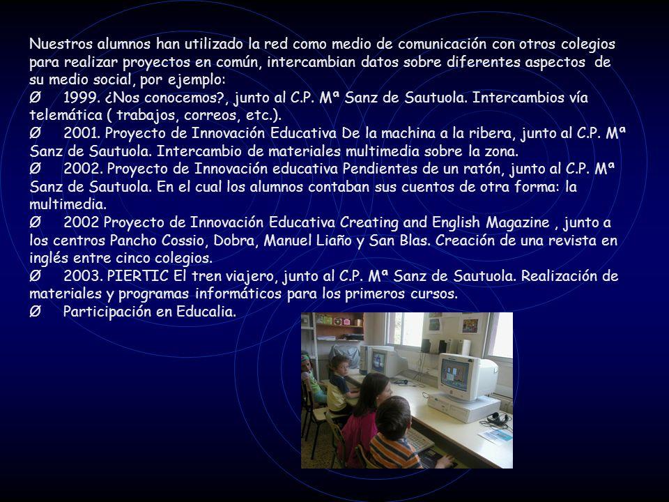Ø Participación en Educalia.