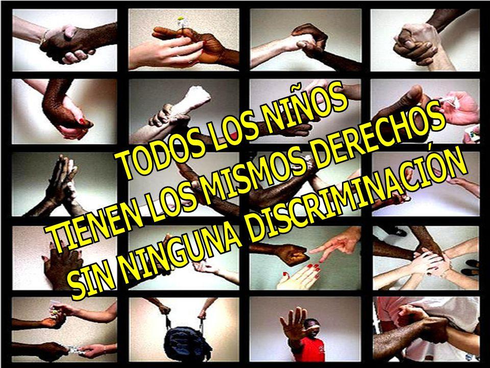 TIENEN LOS MISMOS DERECHOS SIN NINGUNA DISCRIMINACIÓN