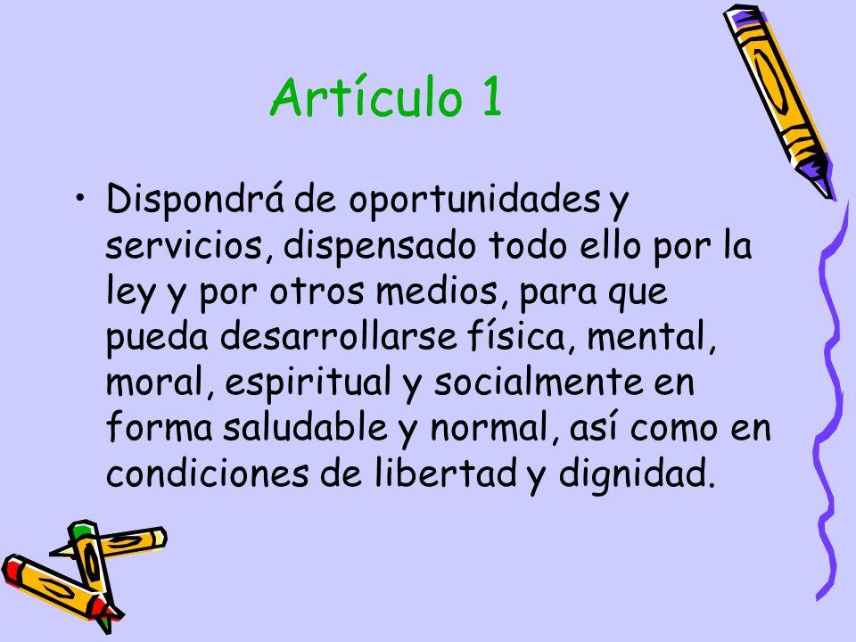 Artículo 1