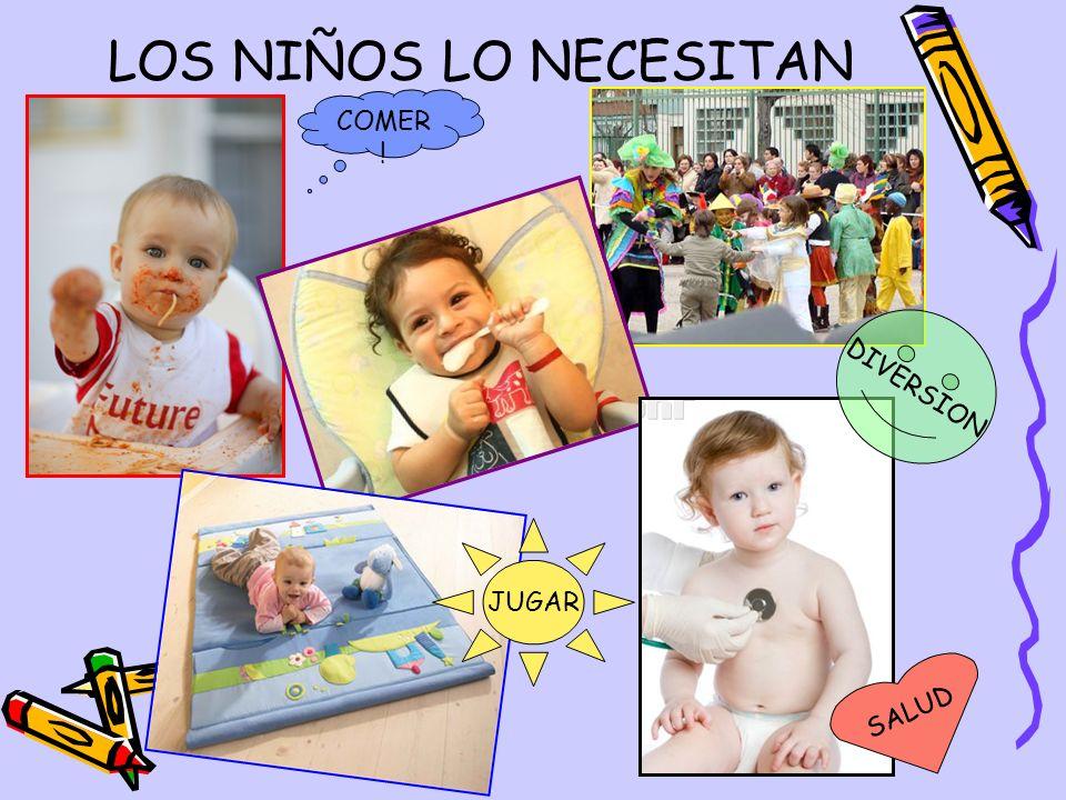LOS NIÑOS LO NECESITAN COMER! DIVERSION JUGAR SALUD