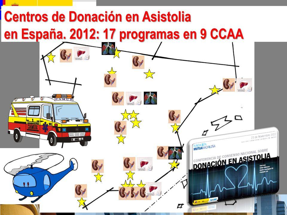 Centros de Donación en Asistolia