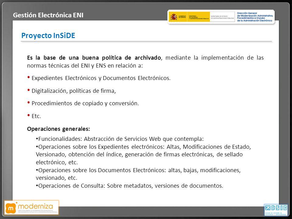Gestión Electrónica ENI