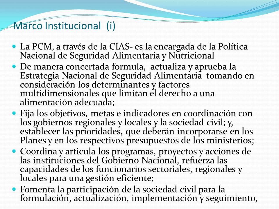 Marco Institucional (i)