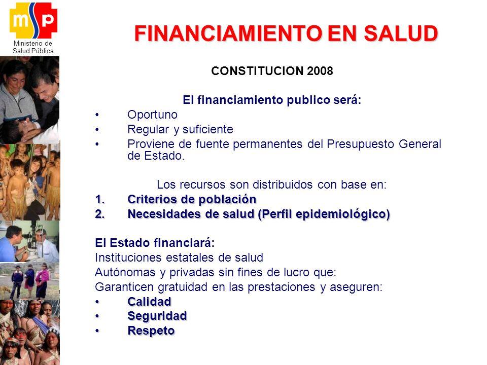 FINANCIAMIENTO EN SALUD