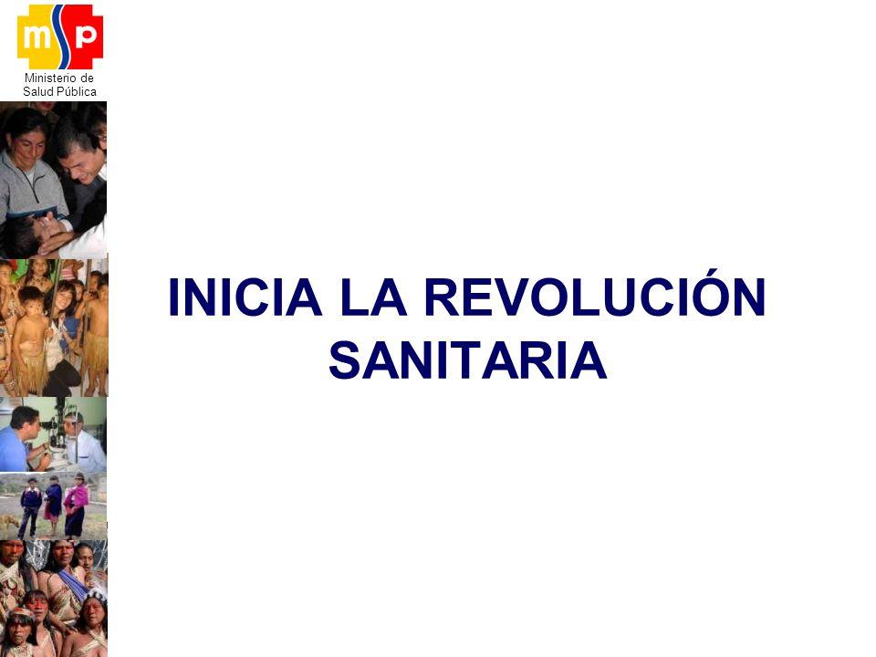 INICIA LA REVOLUCIÓN SANITARIA