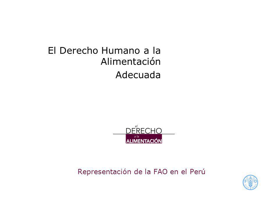 Representación de la FAO en el Perú