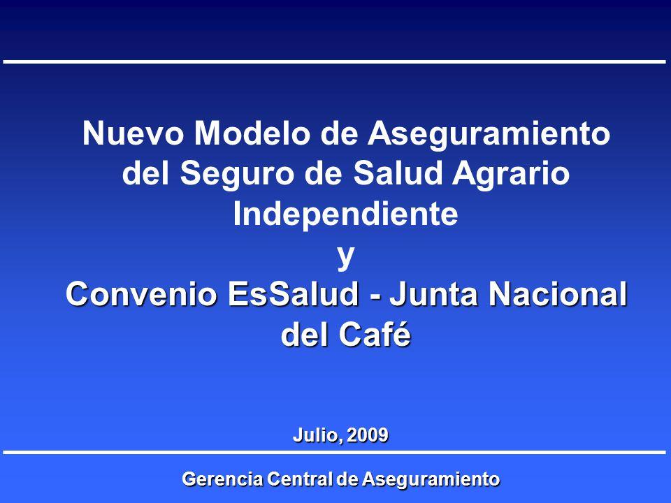 Convenio EsSalud - Junta Nacional del Café