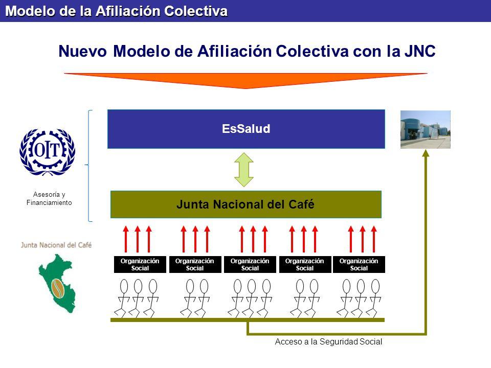 Nuevo Modelo de Afiliación Colectiva con la JNC