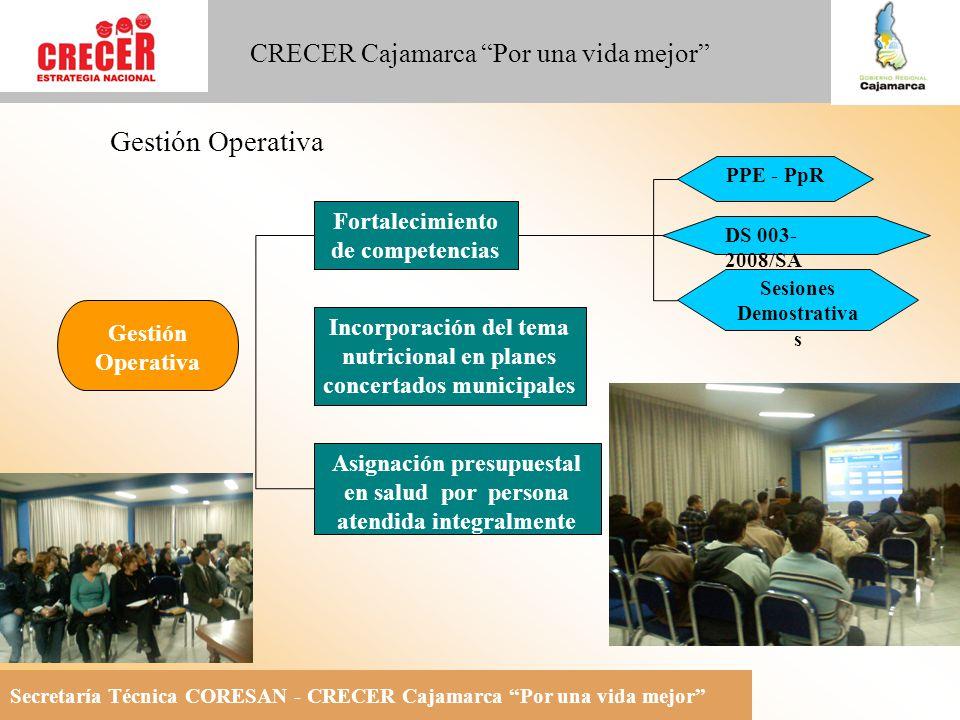 Gestión Operativa Fortalecimiento de competencias Gestión Operativa