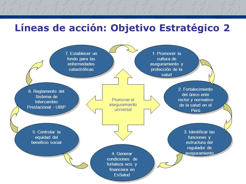 Líneas de acción: Objetivo Estratégico 2