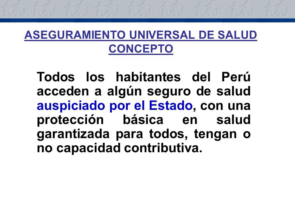 ASEGURAMIENTO UNIVERSAL DE SALUD CONCEPTO