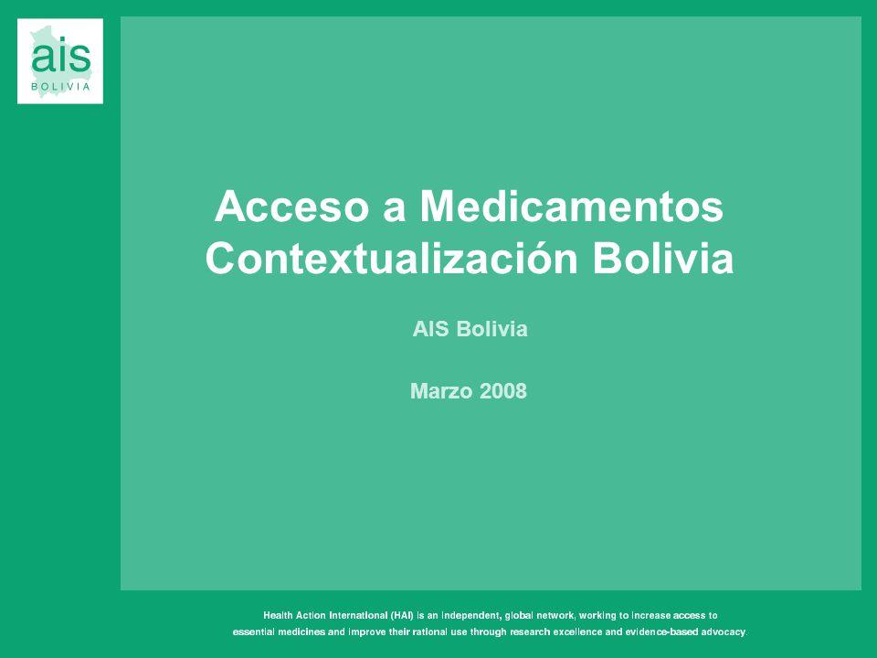Contextualización Bolivia