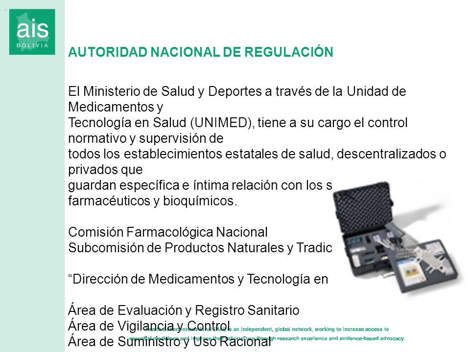 AUTORIDAD NACIONAL DE REGULACIÓN