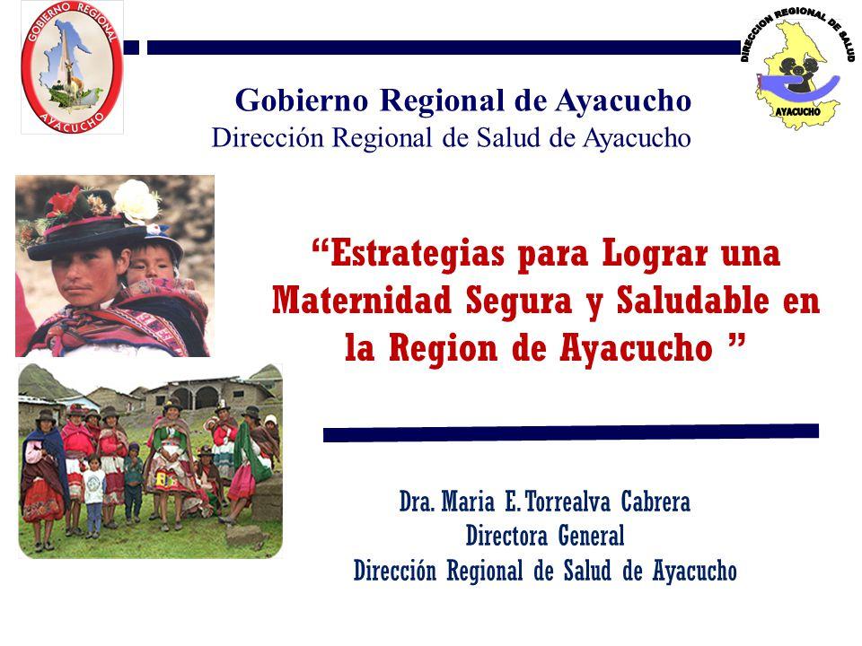 01/04/2017 Gobierno Regional de Ayacucho. Dirección Regional de Salud de Ayacucho.