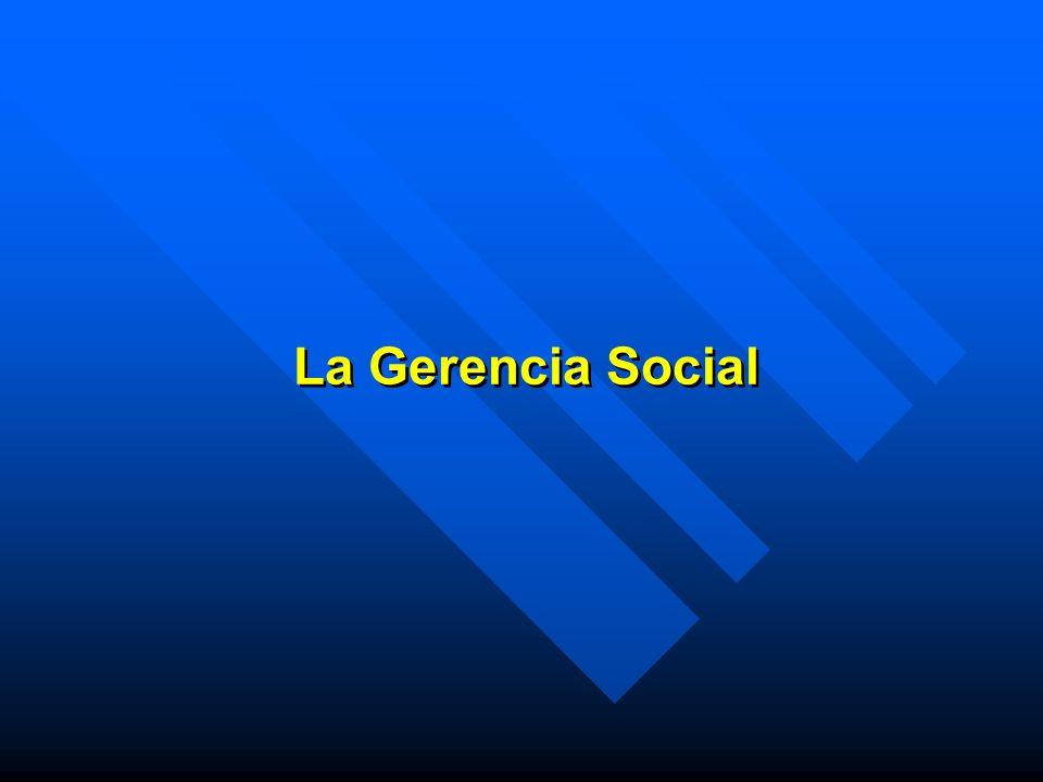 La Gerencia Social