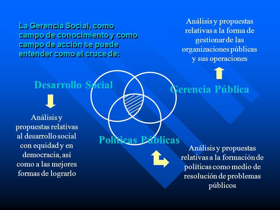 Desarrollo Social Gerencia Pública Políticas Públicas