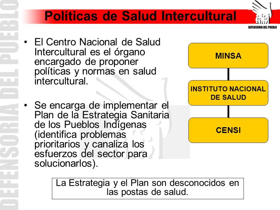Políticas de Salud Intercultural