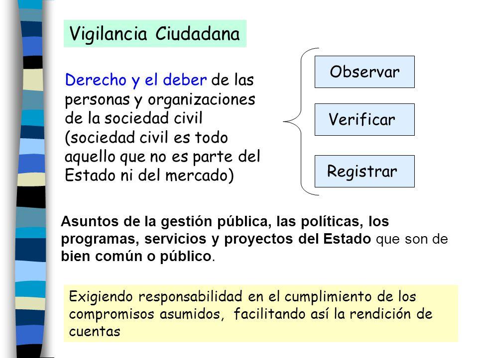 Vigilancia Ciudadana Observar