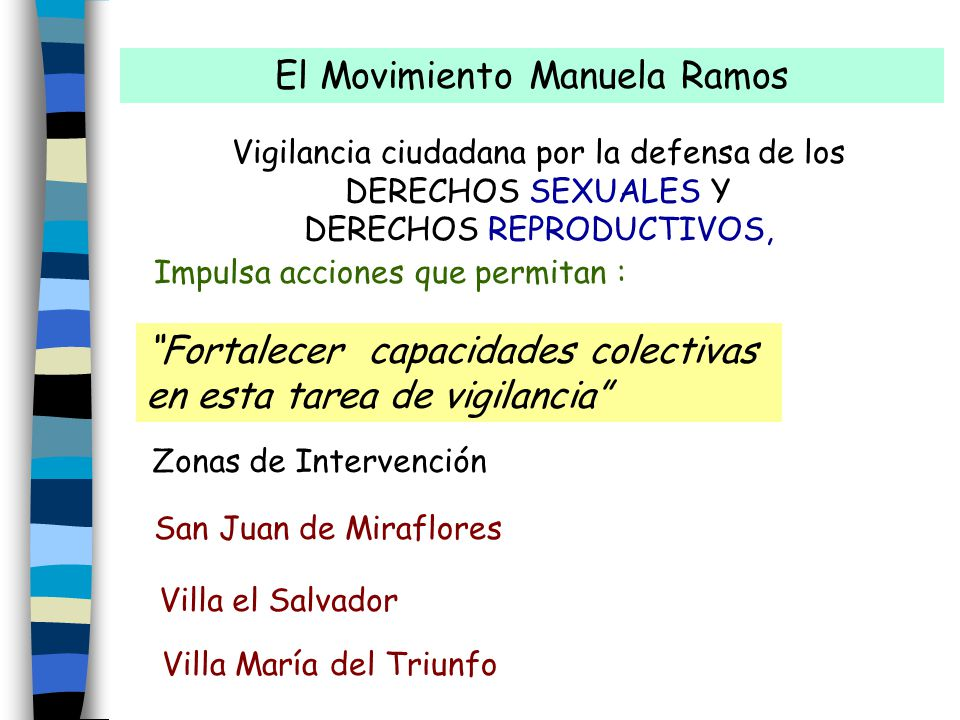 El Movimiento Manuela Ramos