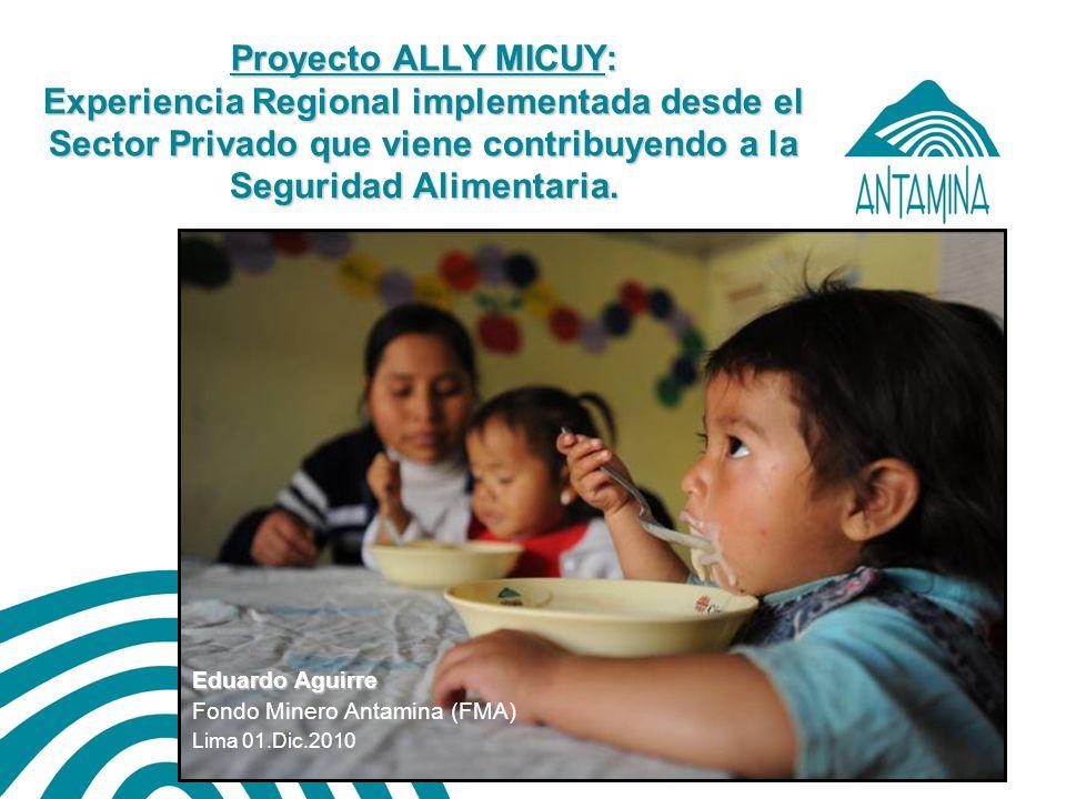Eduardo Aguirre Fondo Minero Antamina (FMA) Lima 01.Dic.2010
